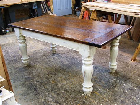 farmers bench farmers tables for kitchen custom oak wood farmhouse
