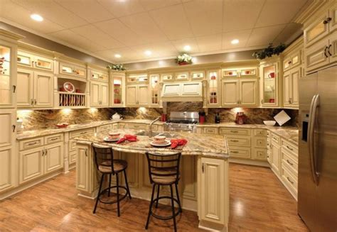 creative of antique white glazed kitchen cabinets rta