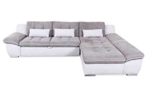 matex ecksofa milo mit schlaffunktion grau sofa