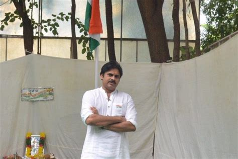 a view on pawan kalyan party s flag and song wishesh special pawan kalyan gets governor invitation for tea party
