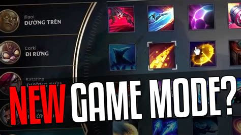 urf game mode urf ability draft any champ any ability new game mode