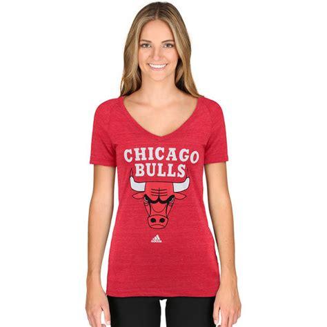 s chicago bulls adidas primary logo tri blend v