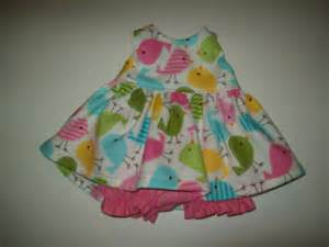 Shabby Chic Baby Clothes by Baby Alive And Waldorf Doll Clothes Pinkgreen Aqua Birds