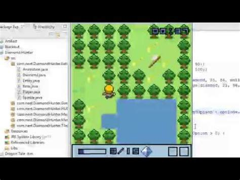code mod game java diamond hunter java 2d game with source code youtube