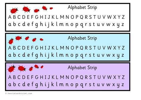 printable alphabet strip free teaching resources eyfs ks1 ks2 primary teachers