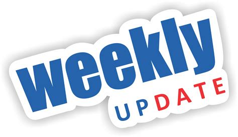 in update category weekly updates