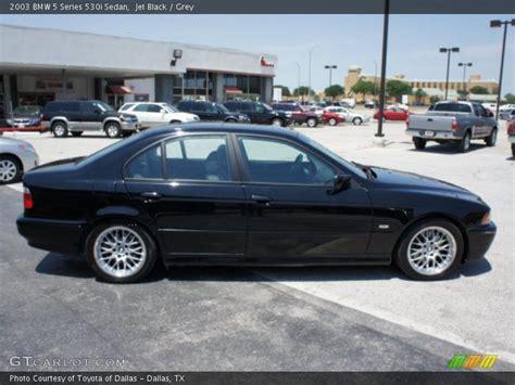 2003 bmw 530i black 2003 bmw 5 series 530i sedan in jet black photo no