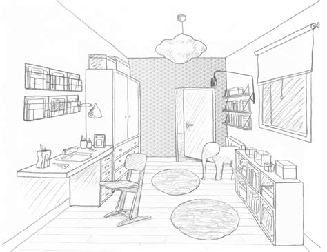 dessin bureau estate office space for rent