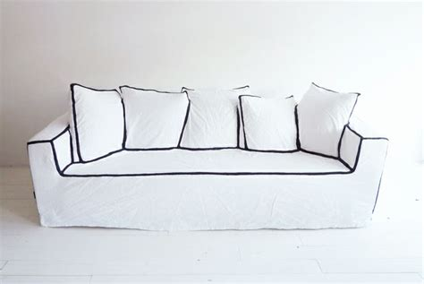 black sofa white piping 17 best images about blanc de blanc on cats