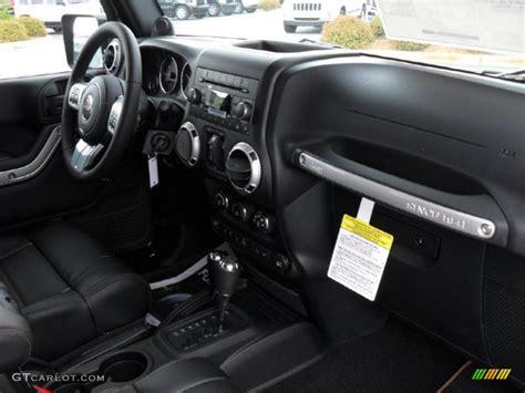 2011 Jeep Wrangler Interior Black Interior 2011 Jeep Wrangler Unlimited 70th