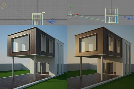 vray lighting tutorial vray sun and sky for beginners vray exterior daylight tutorial
