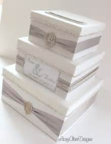 how to make a wedding reception gift card box wedding card box bling card box money holder box with