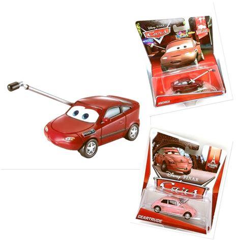 disney pixar cars 1 55 scale die cast andrea geartrude