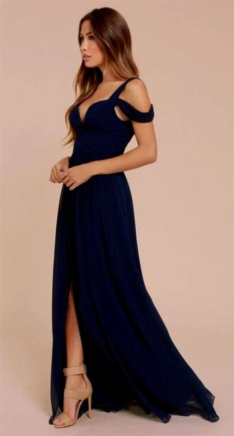 Maxi Vera Navy navy blue dress all dress
