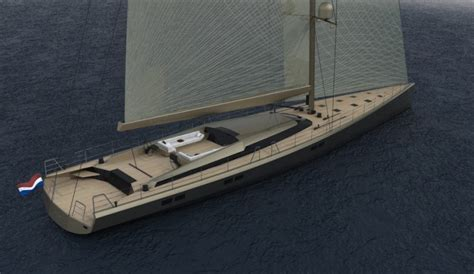 ghost sailboat 130ft sailing yacht g130ss by ghost yachts yacht charter