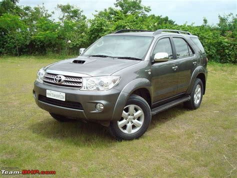 review 1st toyota fortuner team bhp