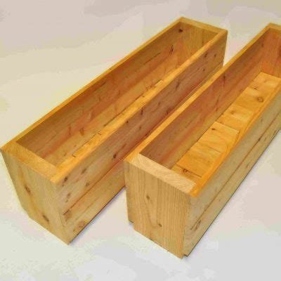 narrow planter narrow planters 2pack garden larch limited