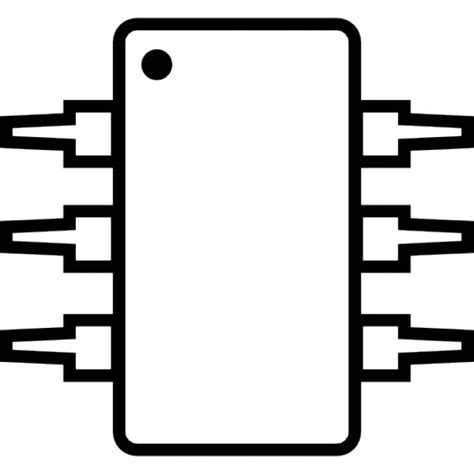simbol ic integrated circuit ic integrated circuit michrochip ios 7 symbol icons free