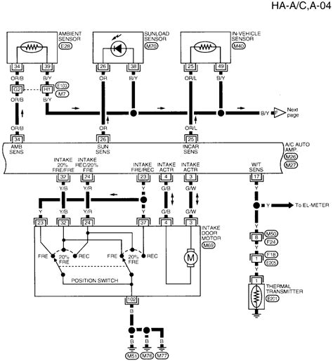need 2004 nissan altima wiring diagram only nissan