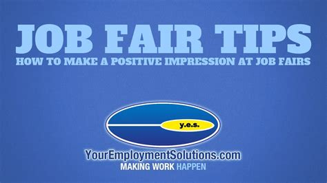 fair tips how to make a positive impact at fairs