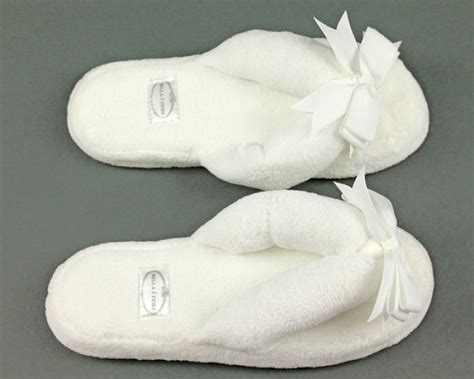 white spa slippers white spa slippers spa slippers il fiore