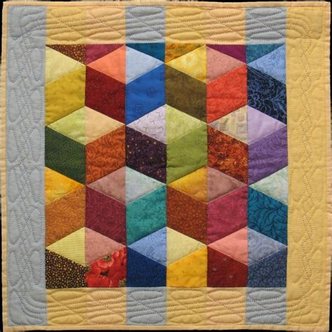 Tumbling Blocks Patchwork - 188 best tumbling blocks quilts images on