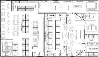 make your own restaurant floor plan your free download cafe and restaurant floor plan solution conceptdraw com