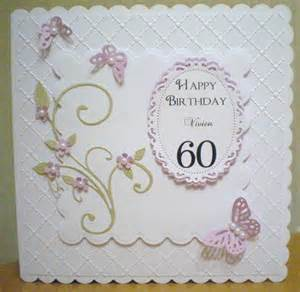 60th birthday card spellbinders 60th birthday cards 60th birthday and