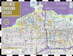 Street Map Of Downtown Chicago by Maps Update 7001148 Tourist Map Of Downtown Chicago 15
