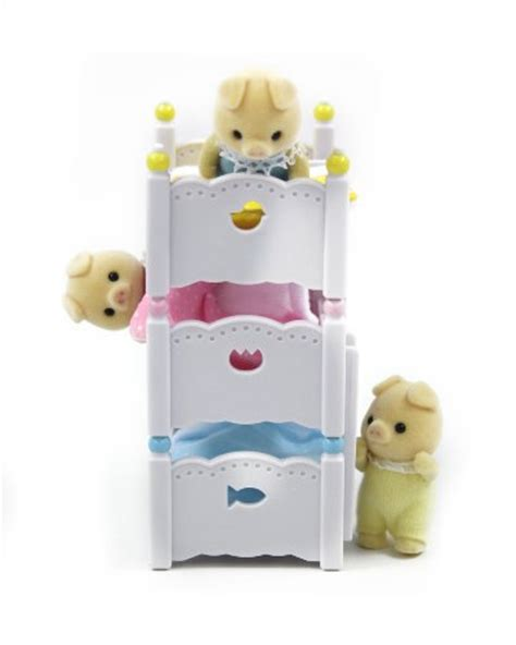 Calico Critters Bunk Beds by Calico Critters Baby Bunk Beds New Ebay