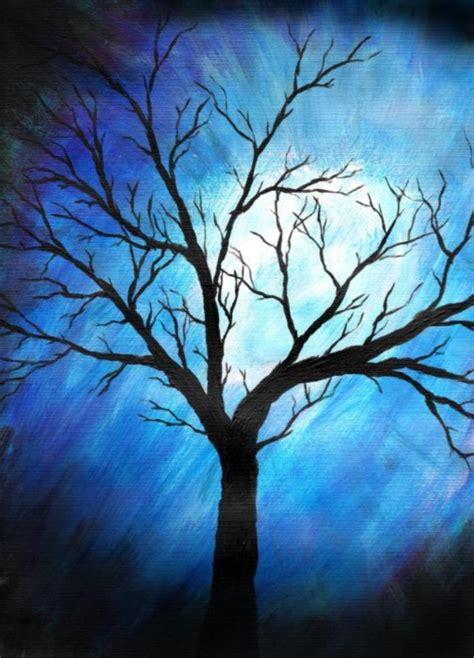 Cat Akrilik Water Base 40 beautiful tree painting works