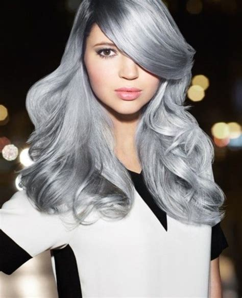silver blonde haircolor 78 grey hairstyles to try for a hot new look
