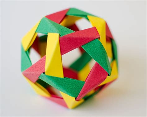 Modular Origami Dodecahedron - 10 best images about modular origami on