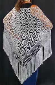 crochet shawls crochet shawl elegant silver silk shawl