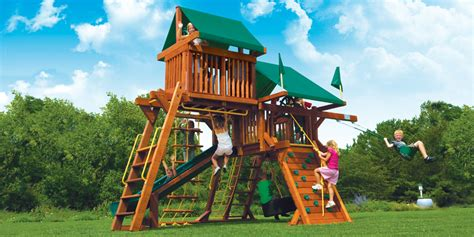 compact backyard playset small yard play structures swing sets playground