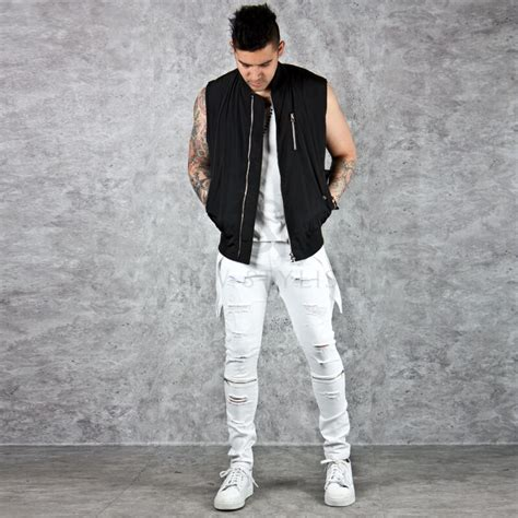 Hq 7570 Slim Denim 2 bottoms sold out zipper accent coated white distressed slim 220 for only 62 00