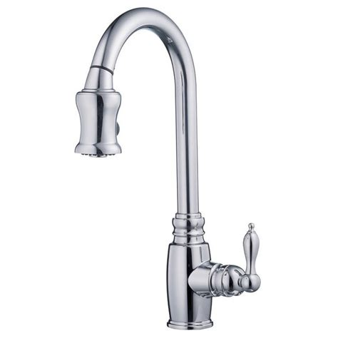 moen s7208 woodmere single handle high arc kitchen faucet with pullout spray danze d454557 chrome pull down spray kitchen faucet