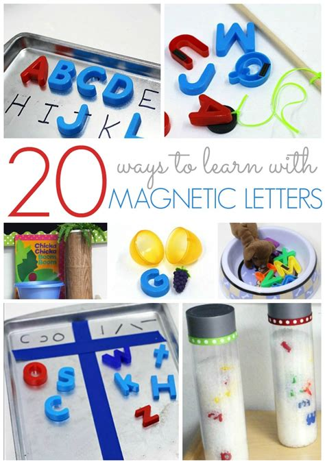 kindergarten activities magnets 20 ways to use magnetic letters pre k pages