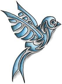 coloured tribal tattoos coloured tribal bird design tattoodesign