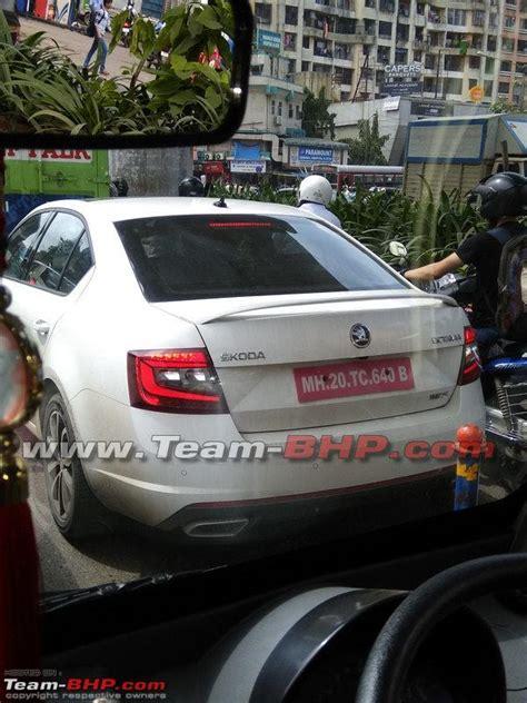 Car Exhaust System In Mumbai Team Bhp Scoop Skoda Octavia Vrs Spotted In Mumbai