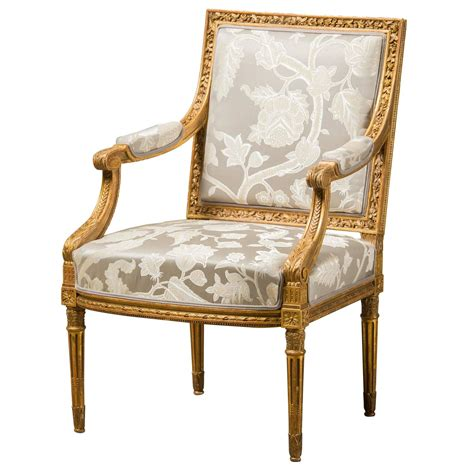 fabric armchairs sale armchair louis xvi style reupholstered with fabric from
