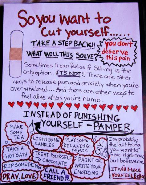 how to your yourself so you want to cut yourself read this by nessie905 on