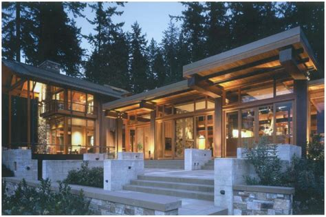 pacific northwest home built from shipwreck lumber
