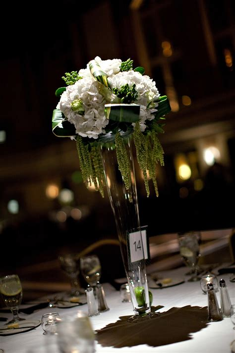 beautiful table centerpieces high wedding reception centerpiece onewed com