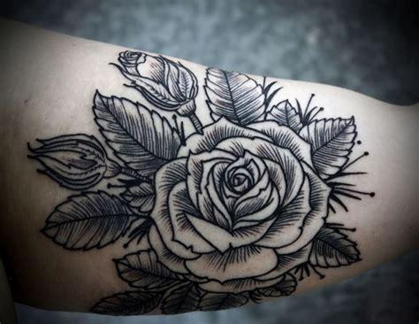 easy tattoo ink recipe simple homemade black ink rose tattoo on arm