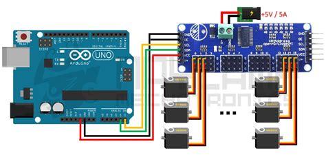 tutorial arduino servo tutorial m 243 dulo controlador de servos pca9685 con arduino