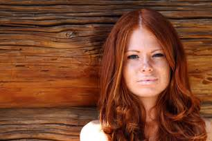 Auburn red hair dye fashion belief