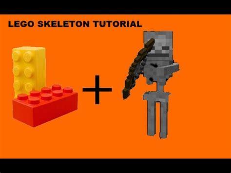lego watch tutorial lego minecraft skeleton tutorial 2k subscribers youtube