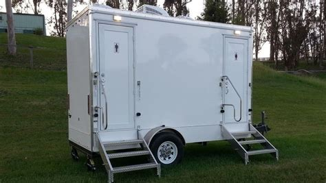 backyard wedding trailer luxury portable restroom rentals in napa county fancy flush