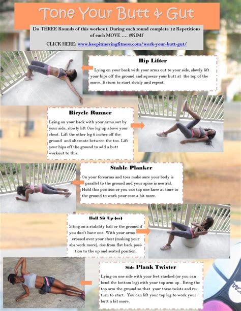 keep it moving fitness glute exercises work your
